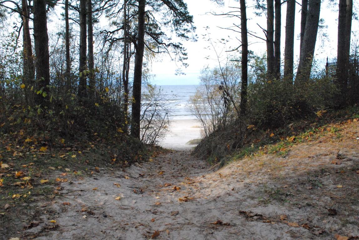 Approaching Jūrmala Beach, Latvia (1)