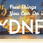 25 Free Things Do Sydney Infographic