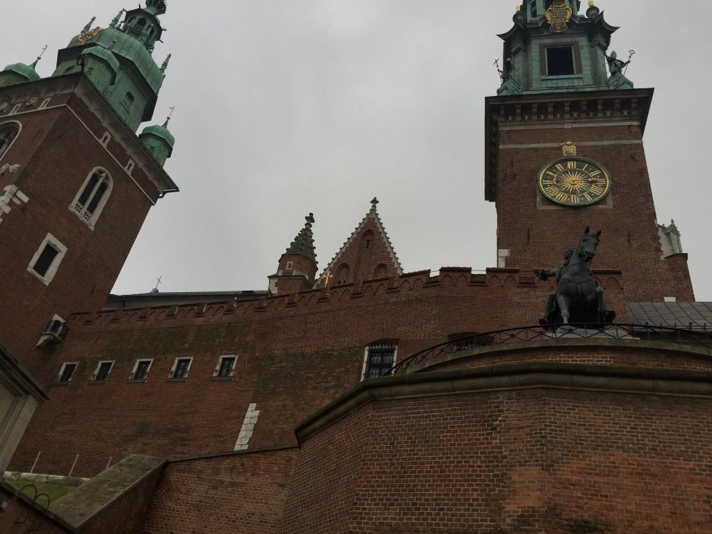 Wawel Castle Grounds Krakow Poland